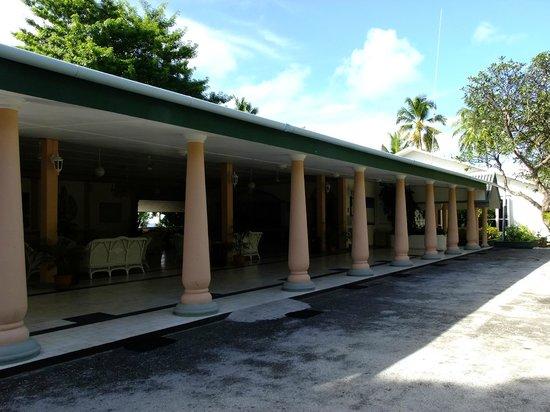 Equator Village entrance (Ex-Sgts Mess)