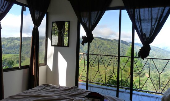 Casa Botania: Our cabin - what a view!