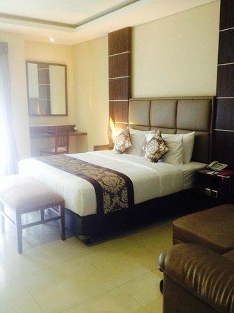 D'Penjor Seminyak : Superior room king bed