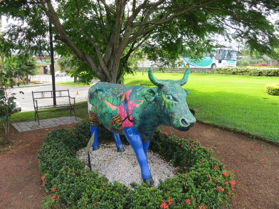 Hampton Inn & Suites by Hilton San Jose Airport: cow in grounds