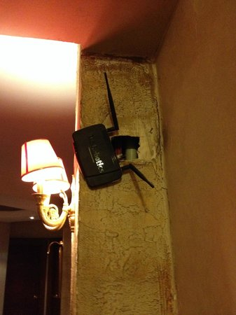 Hotel Ipek Palas: Really? You won't fix it??