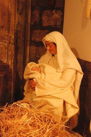 Hotel Rivoli Sorrento: Nativity live