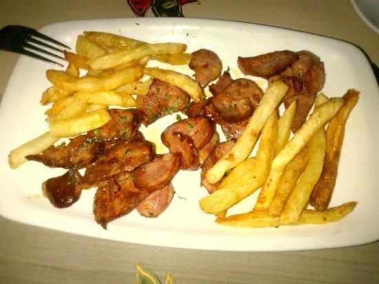 Restaurante Parreirinha : starter: chouriço