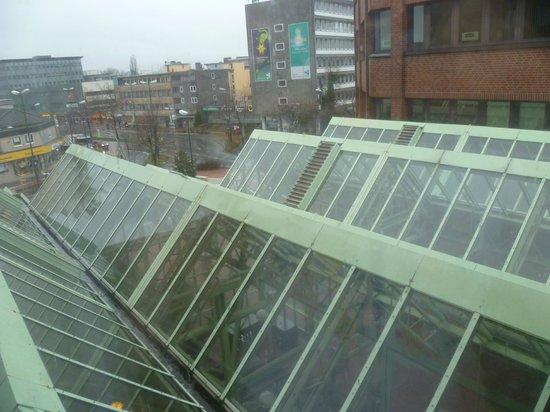 Mercure Hotel Hamm: Крыша оранжереи