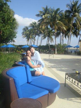 Hilton Miami Airport: Área da piscina