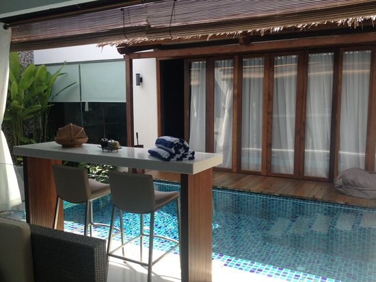 La Villa Langkawi: from the living room