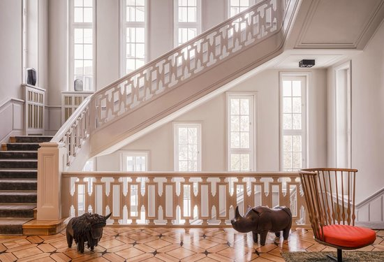 Das Stue: Historical Stairwell
