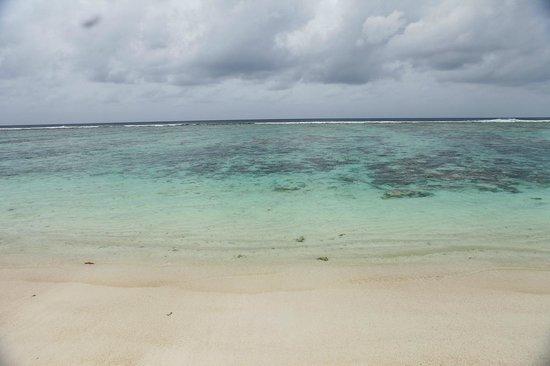 Nice beach in Hulhumale, 3 min walk from Velima Inn