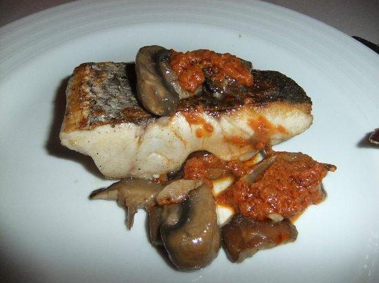 Casa 9 Restaurante : The fish course