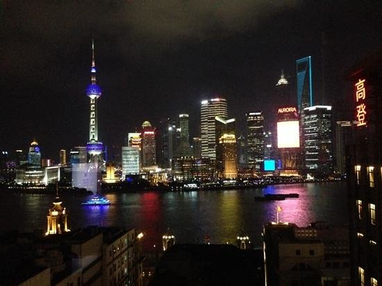 Waldorf Astoria Shanghai on the Bund: Amazing view from our room