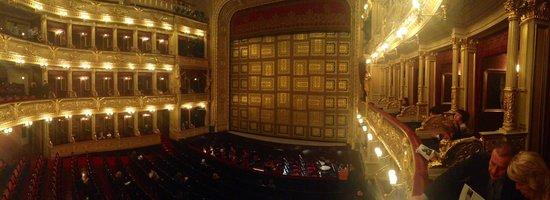 National Theater : Vista dalla prima balconata