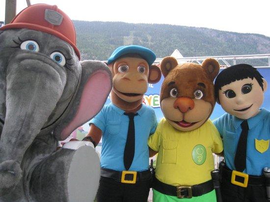 Lilleputthammer Amusement Park: Vennebyen på besøk