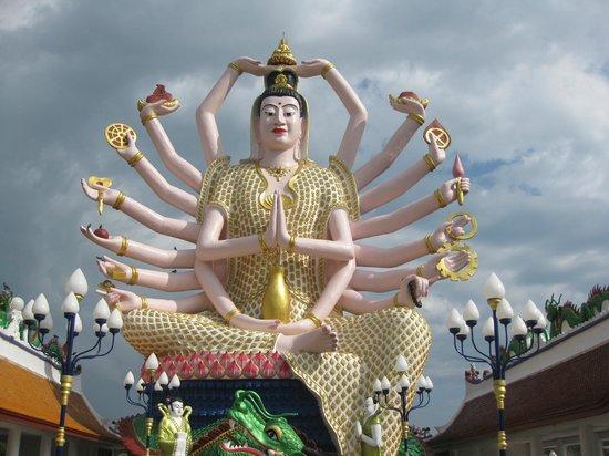 Wat Plai Laem : Многорукий
