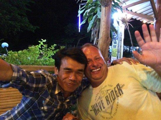 Chotaha Restaurant: Cheffe und ich