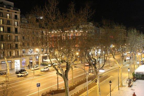 Majestic Hotel & Spa Barcelona: 部屋からの眺望
