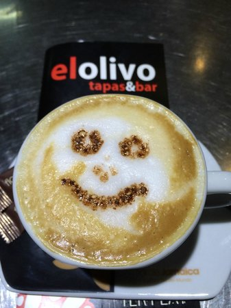 El Olivo Tapas & Bar: happy coffe