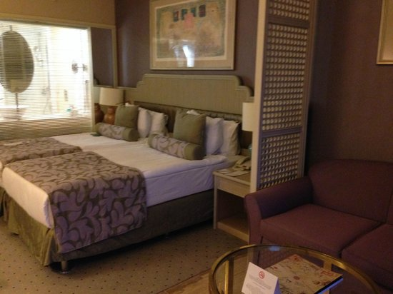 Rixos Downtown Antalya: Our room