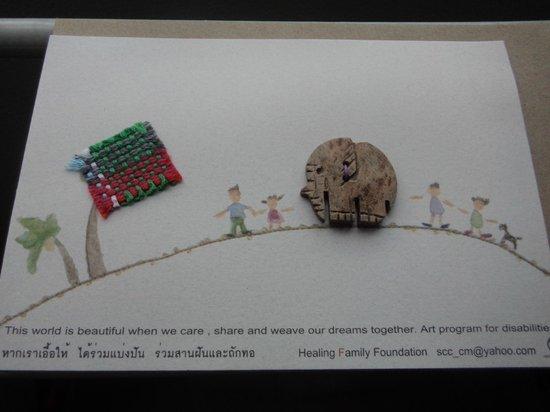 Healing Family Foundation: homemade cards--adorable