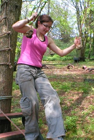 Ashcombe Adventure Centre Ltd: Low Challenge Course