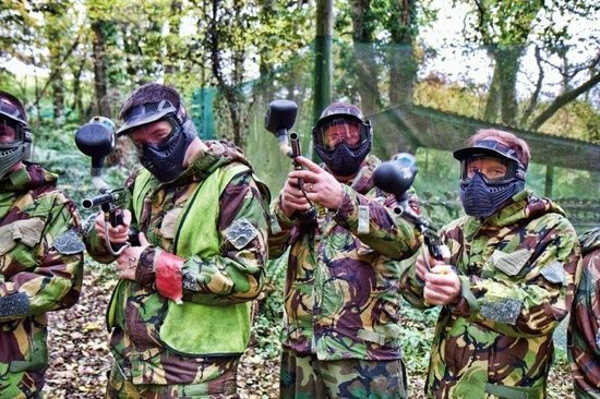 Ashcombe Adventure Centre Ltd: Paintballing