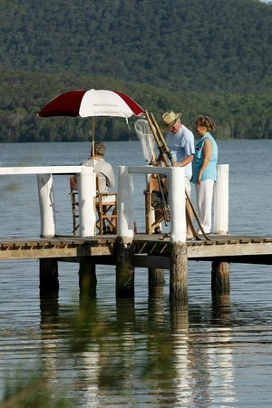 Coomba Park, Australia: Fish from the jetty
