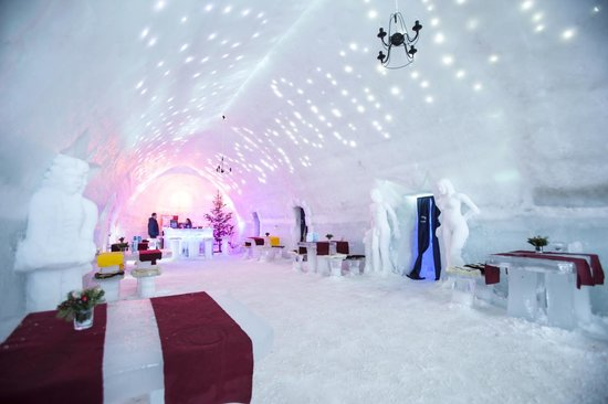 Ice Hotel Romania: Main Hotel Space