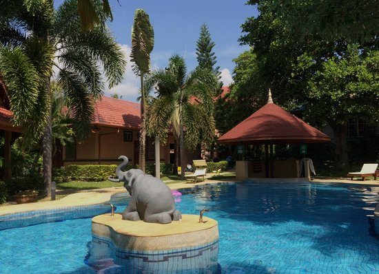 The Happy Elephant Resort: Pool