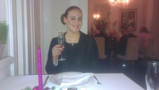 Jag dricker och äter gott på el hispano