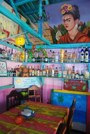 La Isla del Colibri: interno del ristorante