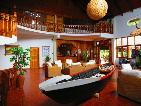 Patatran Village Hotel: Hall de l'hôtel