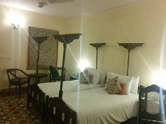 The Grand Imperial, Agra : Room which we stayed