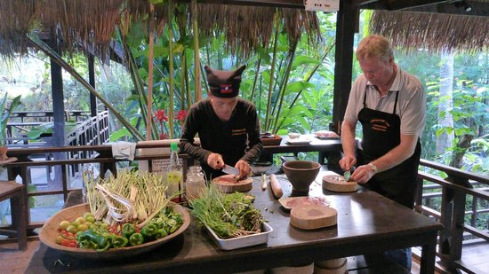 Tamarind: cooking class with the chef Chai