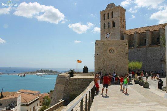 Mirador Rey Jaume I, Dalt Vila, Ibiza, Spain