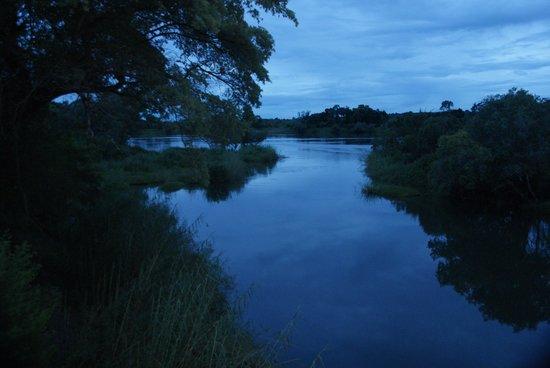 Camp Nkwazi: The river