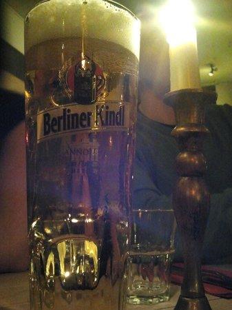 Restaurant Schnitzelei: Berliner Kindl