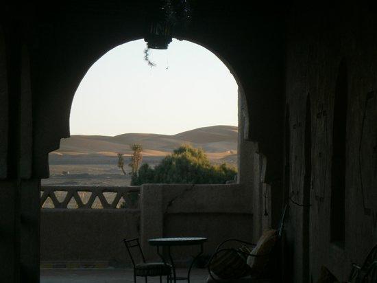 Nasser Palace Hôtel & Bivouacs: veduta dal Nasser