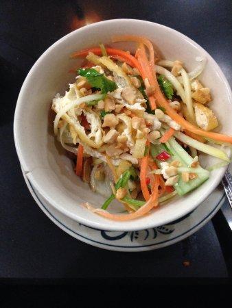 Orchid Cooking Class & Restaurant: Tofu salad