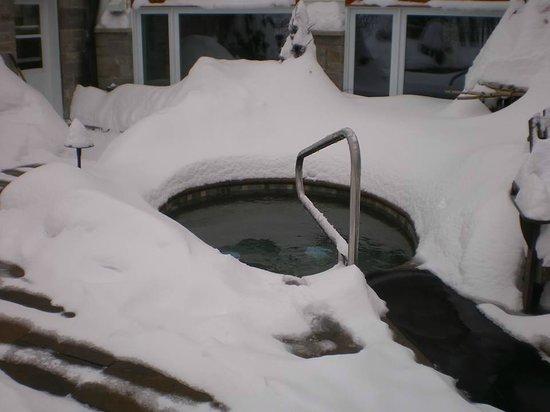 Le Manoir du lac William : bains nordiques
