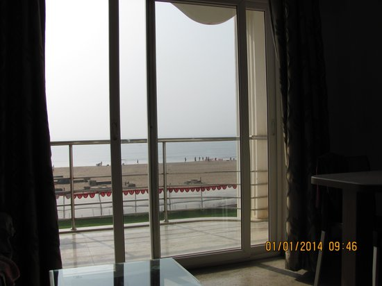 Jamindar's Palace: Sea from room