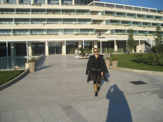 Radisson Blu Resort & Spa at Dubrovnik Sun Gardens: front of