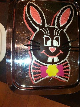 Radisson Blu Resort & Spa at Dubrovnik Sun Gardens: eastern bunny