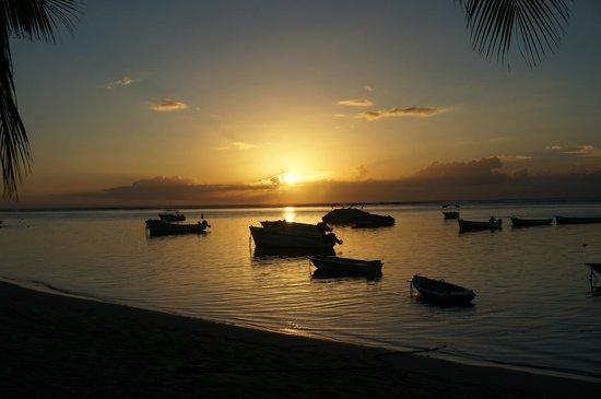 LUX* Le Morne : couché de soleil