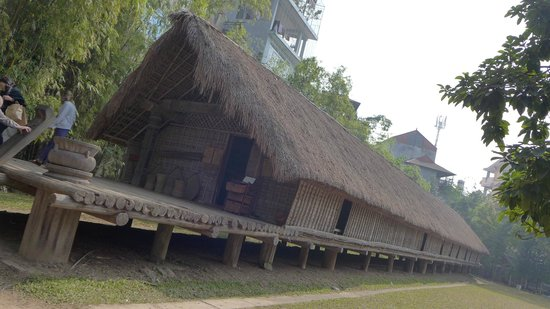 Ethnologisches Museum: outside houses