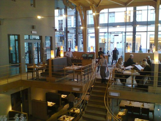 Interieur picture of grand cafe horta antwerp for Interieur antwerpen