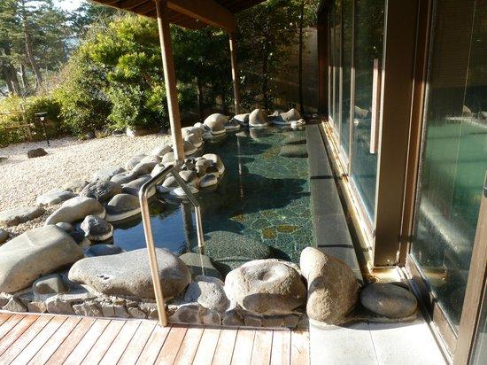 Marubun : 1階の露天風呂