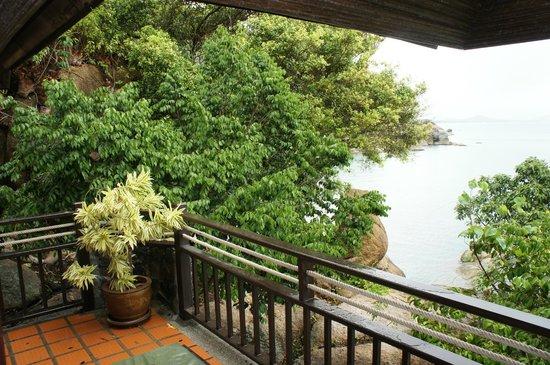 Coral Cove Chalet: Наш балкончик