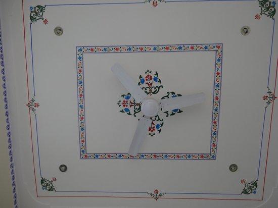 Hotel Mandiram Palace: ceiling