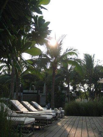 Putahracsa Hua Hin: Zonsondergang
