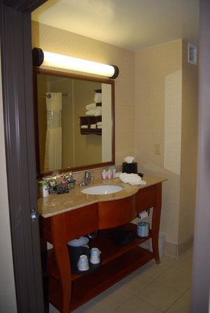Hampton Inn and Suites - Dallas Allen : Bathroom