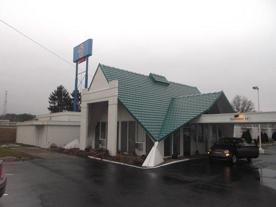 Motel 6 Geneva : Photo du 14 janvier 2014.